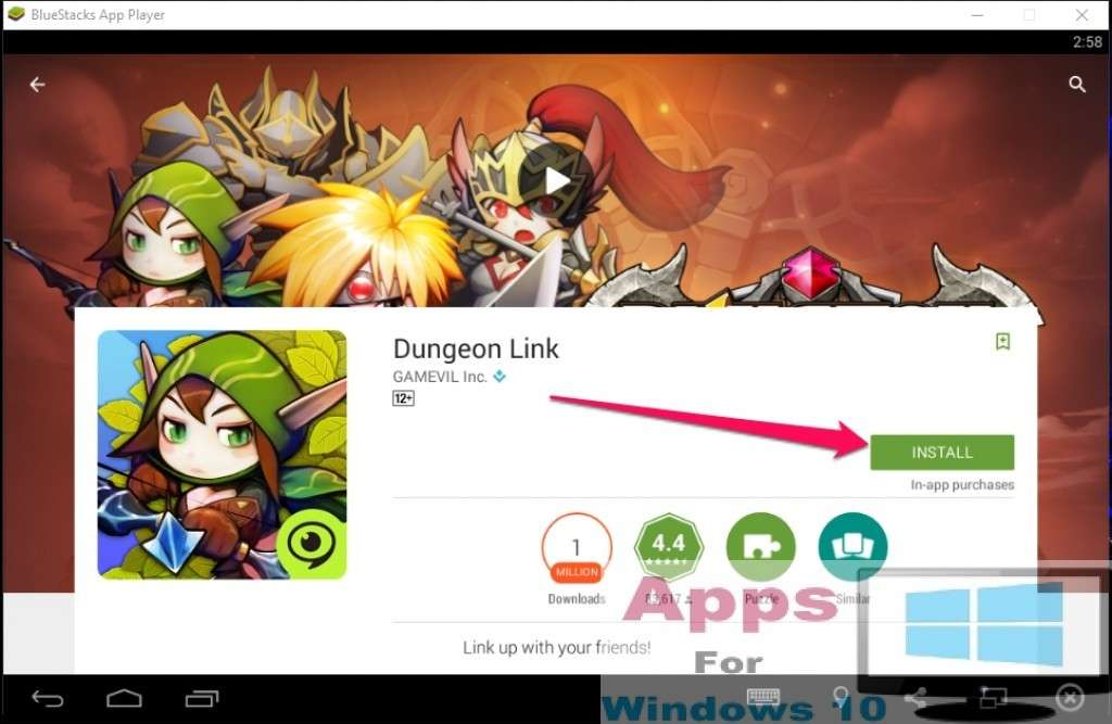 Dungeon_Link_for_Windows10