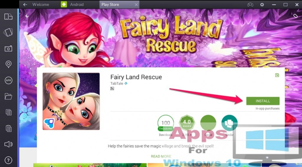 Fairy_Land_Rescue_for_Windows10_PC