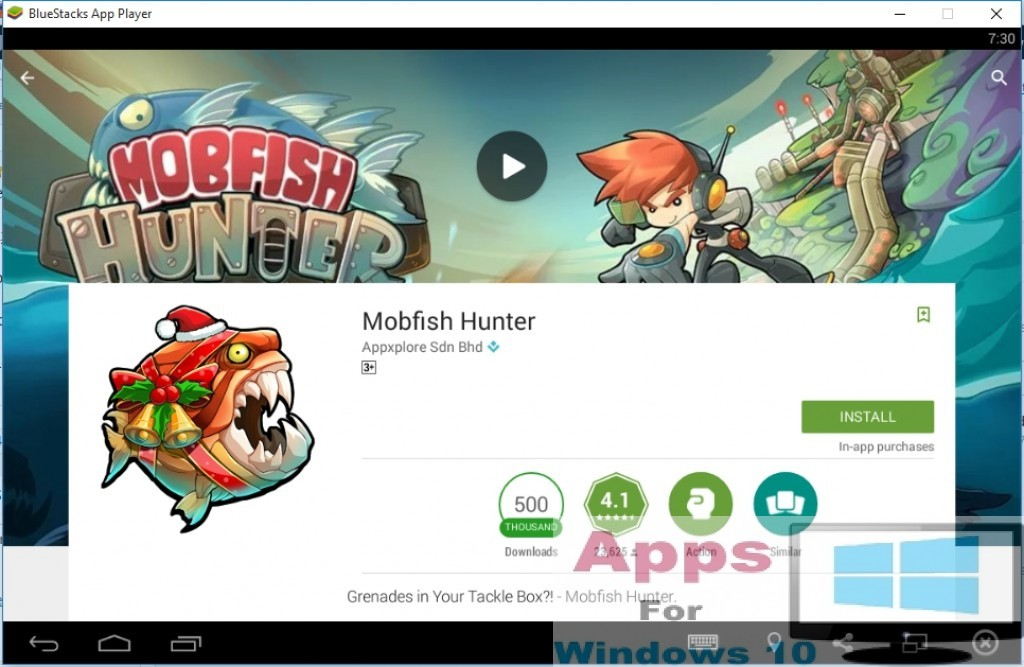 MobFish Hunter For PC