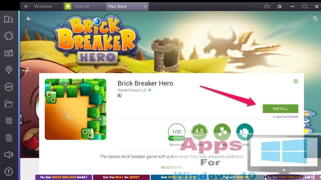Brick_Breaker_Hero_for_PC_Windows10_Mac