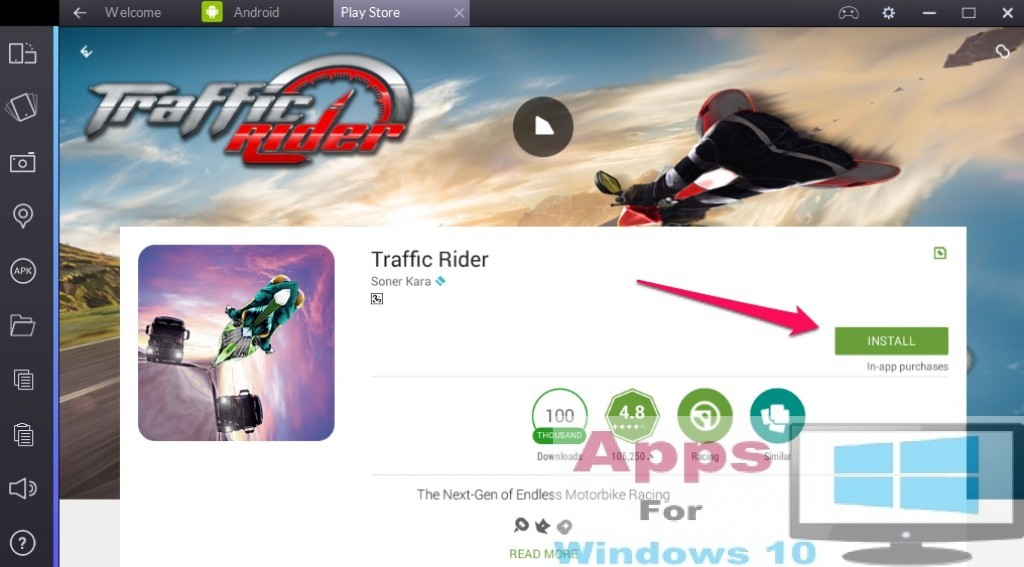 Traffic_Rider_Windows10_PC_Mac