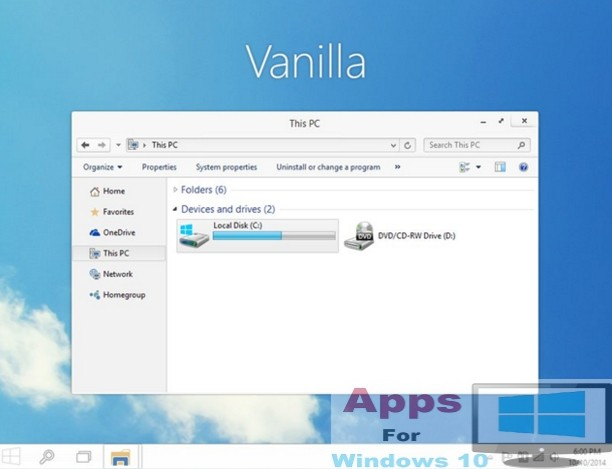 Vanilla_Windows10_Theme