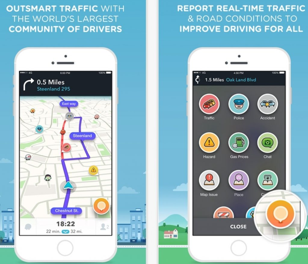 Waze_GPS_Navigation_Maps_Social_Traffic_for_PC_Download