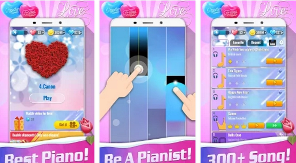 piano music tiles 2 valentine for pc download