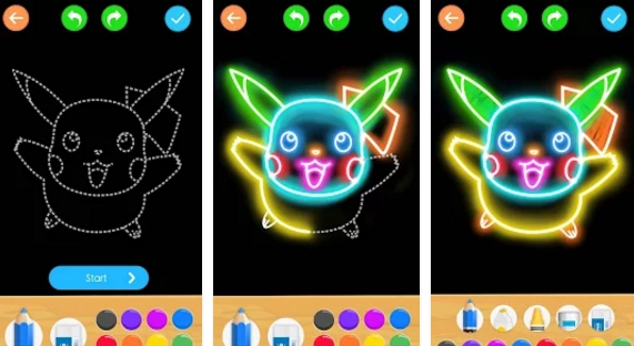 draw glow cartoon pc download