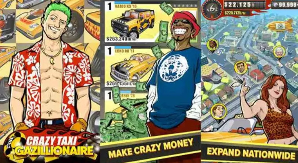 crazy taxi gazillionaire for pc download free