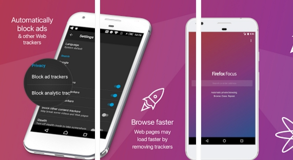 firefox focus the privacy browser for pc download free