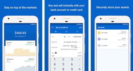 coinbase buy bitcoin app for pc download