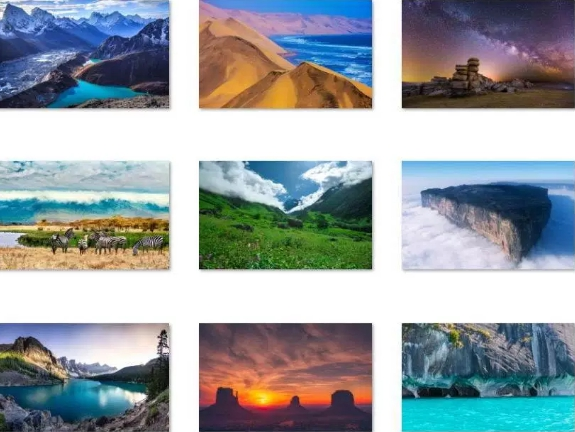 world-national-parks-win-10-theme