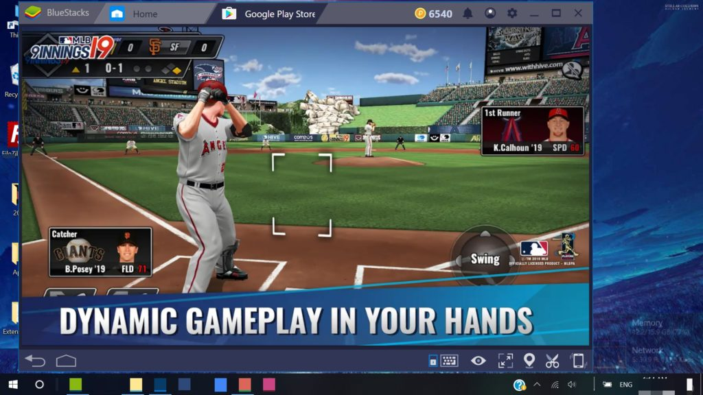 MLB 9 Innings 19 Windows 10 PC